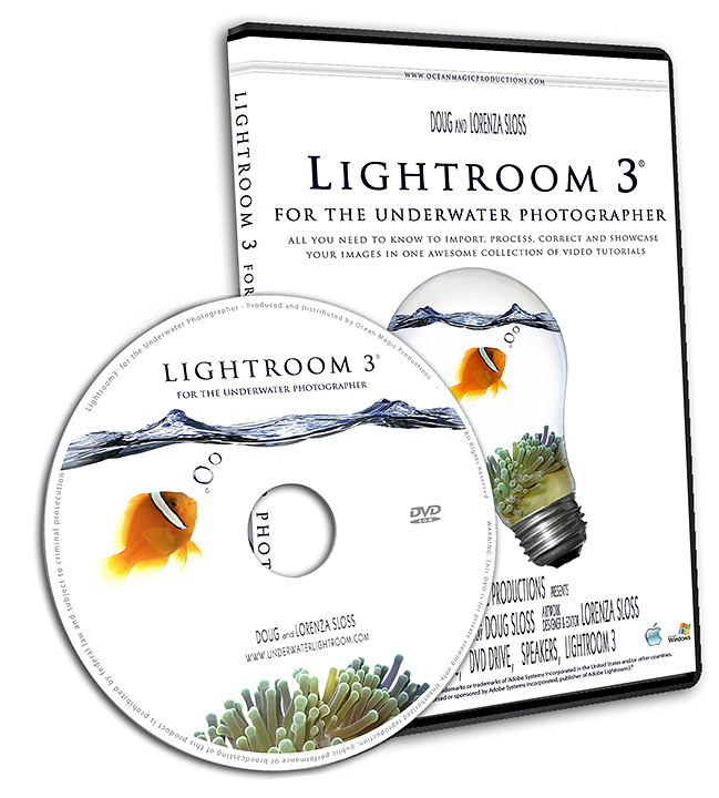 Lightroom 3 for the Underwater Photographer DVD